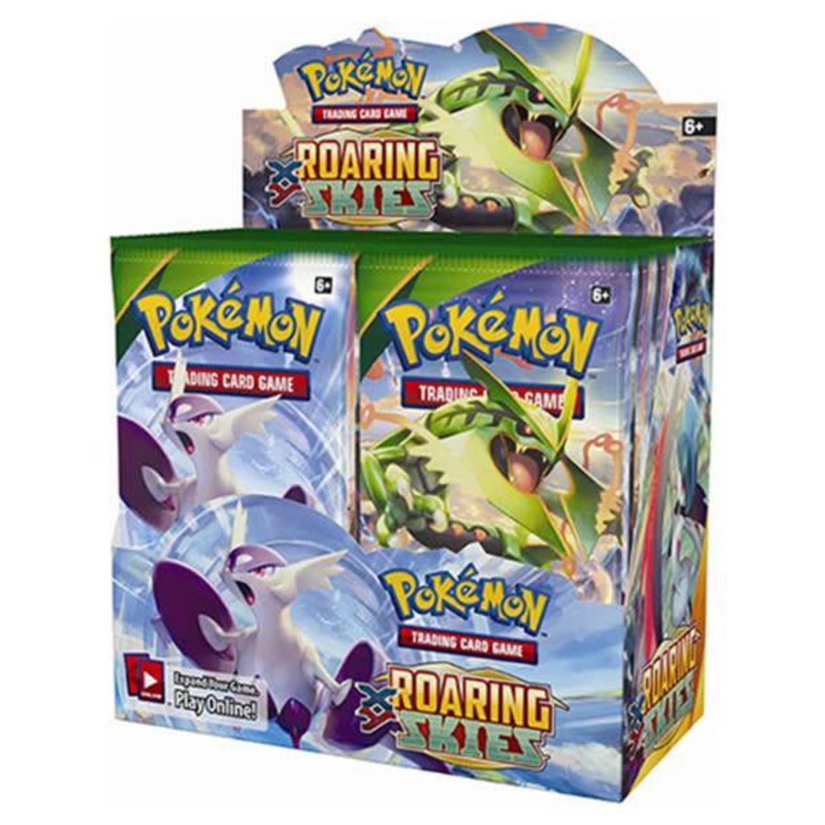 Pokemon International Pokemon Trading Card Game: Roaring Skies Booster Box