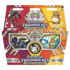 Pokemon International Pokemon Trading Card Game: Sun & Moon Lycanroc/Raichu Trainer Kit