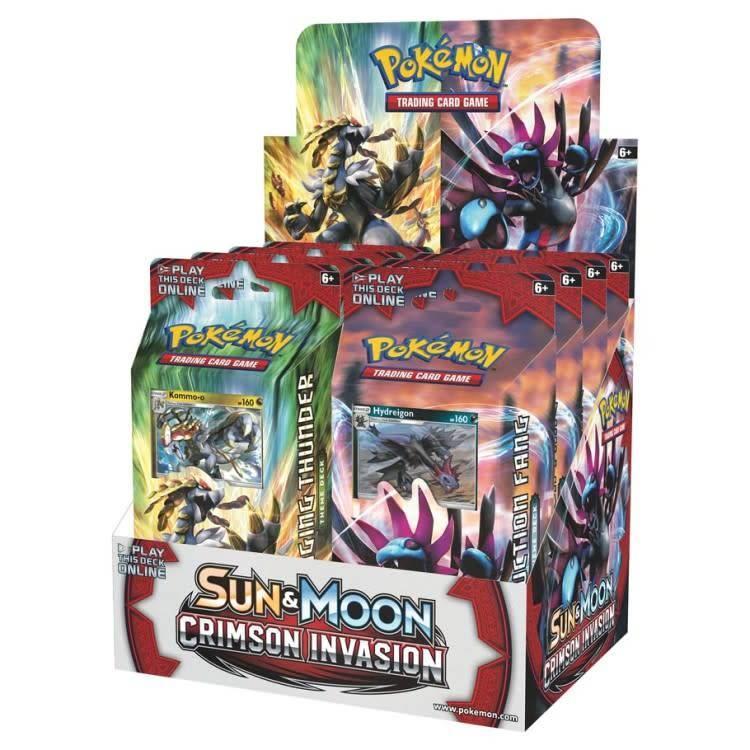 Pokemon International Pokemon Trading Card Game: Crimson Invasion Theme Deck