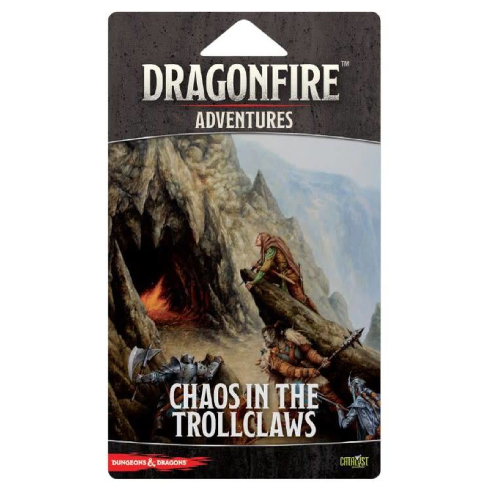 Catalyst Games Dungeons and Dragons: Dragonfire DBG - Adventures - The Trollclaws
