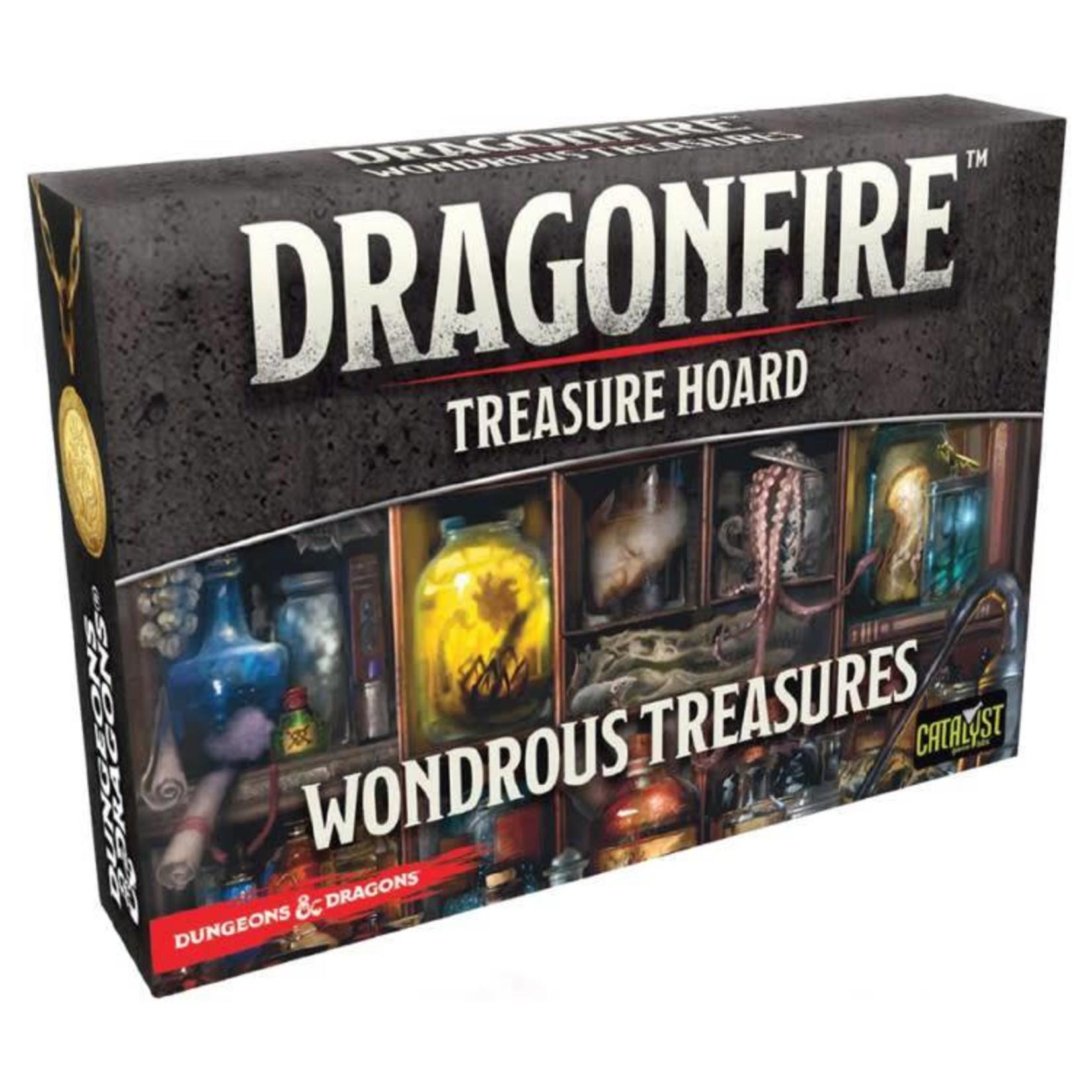 Catalyst Games Dragonfire Deckbuilding Game: Wondrous Treasures Expansion Pack