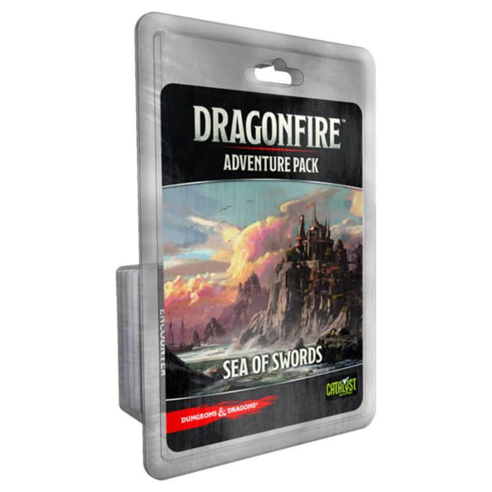 Cryptozoic Dragonfire Deckbuilding Game: Adventures - Sea of Swords