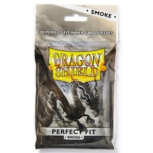 Arcane Tinman Dragon Shield: Perfect Fit Cards Sleeves - Smoke (100)