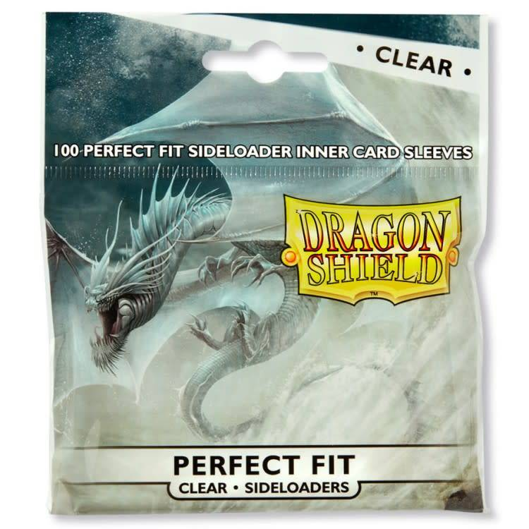 Dragon Shield: Perfect Fit Cards Sleeves - Side-load Clear (100)