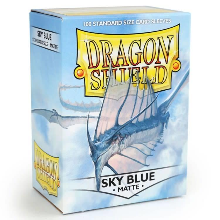 Arcane Tinman Dragon Shields: Cards Sleeves - Sky Blue Matte (100)