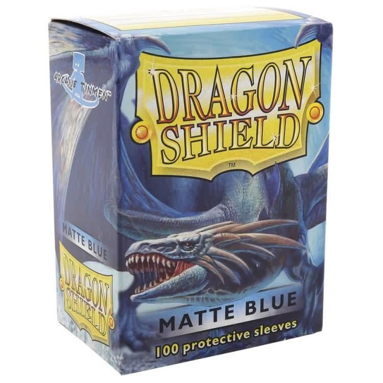 Arcane Tinman Dragon Shields: Card Sleeves - Blue Matte (100)