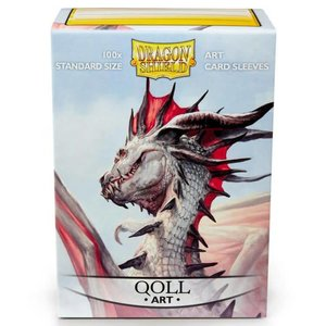 Arcane Tinman Dragon Shields: Classic Art Sleeves - Qoll (100)