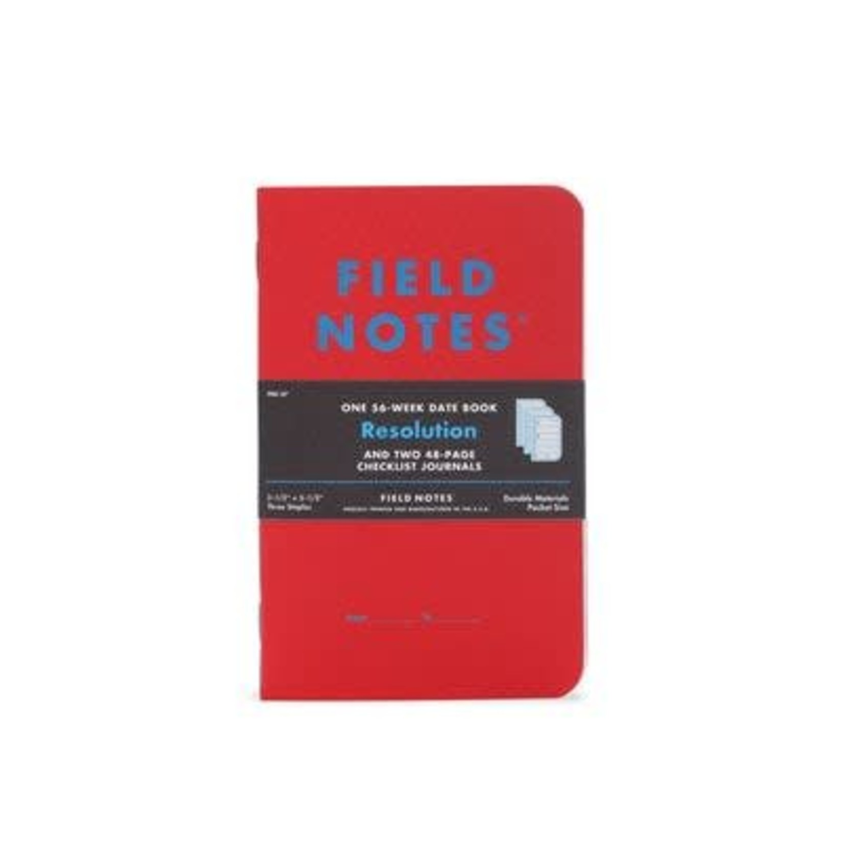 Field Notes Field Notes Resolution