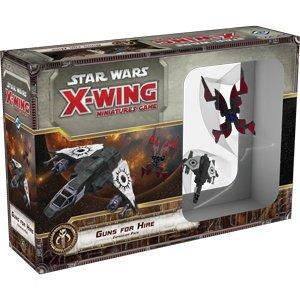 Fantasy Flight Games Star Wars X-Wing 1st Edition: Guns for Hire