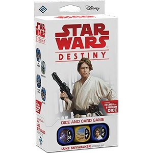Fantasy Flight Games Star Wars Destiny: Legacies Starter Set - Luke