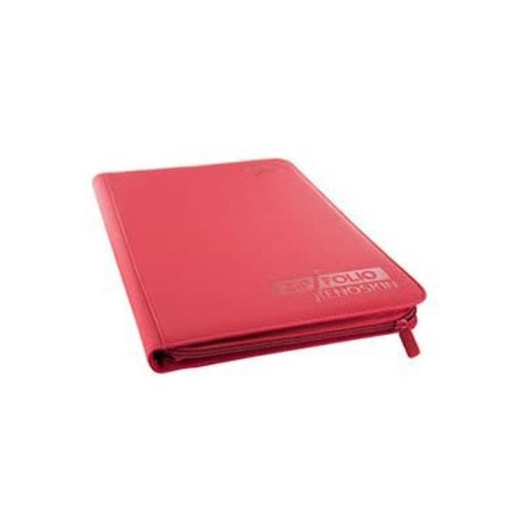 Ultimate Guard Ultimate Guard: 9-Pocket Quadrow Card Binder Zipfolio - Xenoskin Red