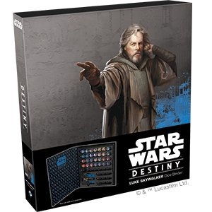 Fantasy Flight Games Star Wars Destiny: Luke Skywalker Dice Binder