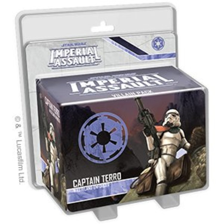 Fantasy Flight Games Imperial Assault Captain Terro Villain Pack
