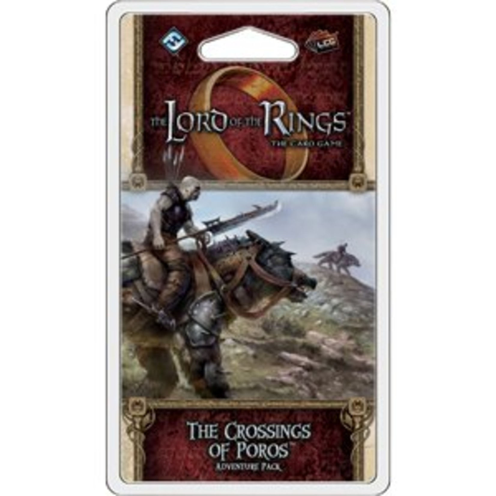 Fantasy Flight Games The Lord of the Rings LCG: The Crossings of Poros Adventure Pack