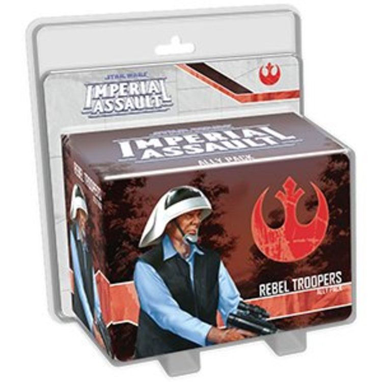 Fantasy Flight Games Imperial Assault Rebel Troopers Ally Pack