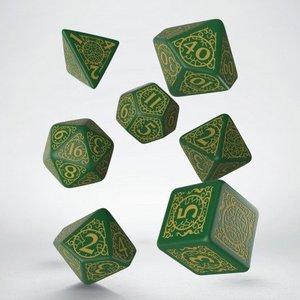 Q Workshop Pathfinder Jade Regent Dice Set (7)