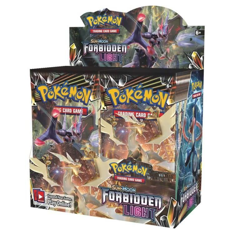 Pokemon International Pokemon Trading Card Game: Forbidden Light Booster Box