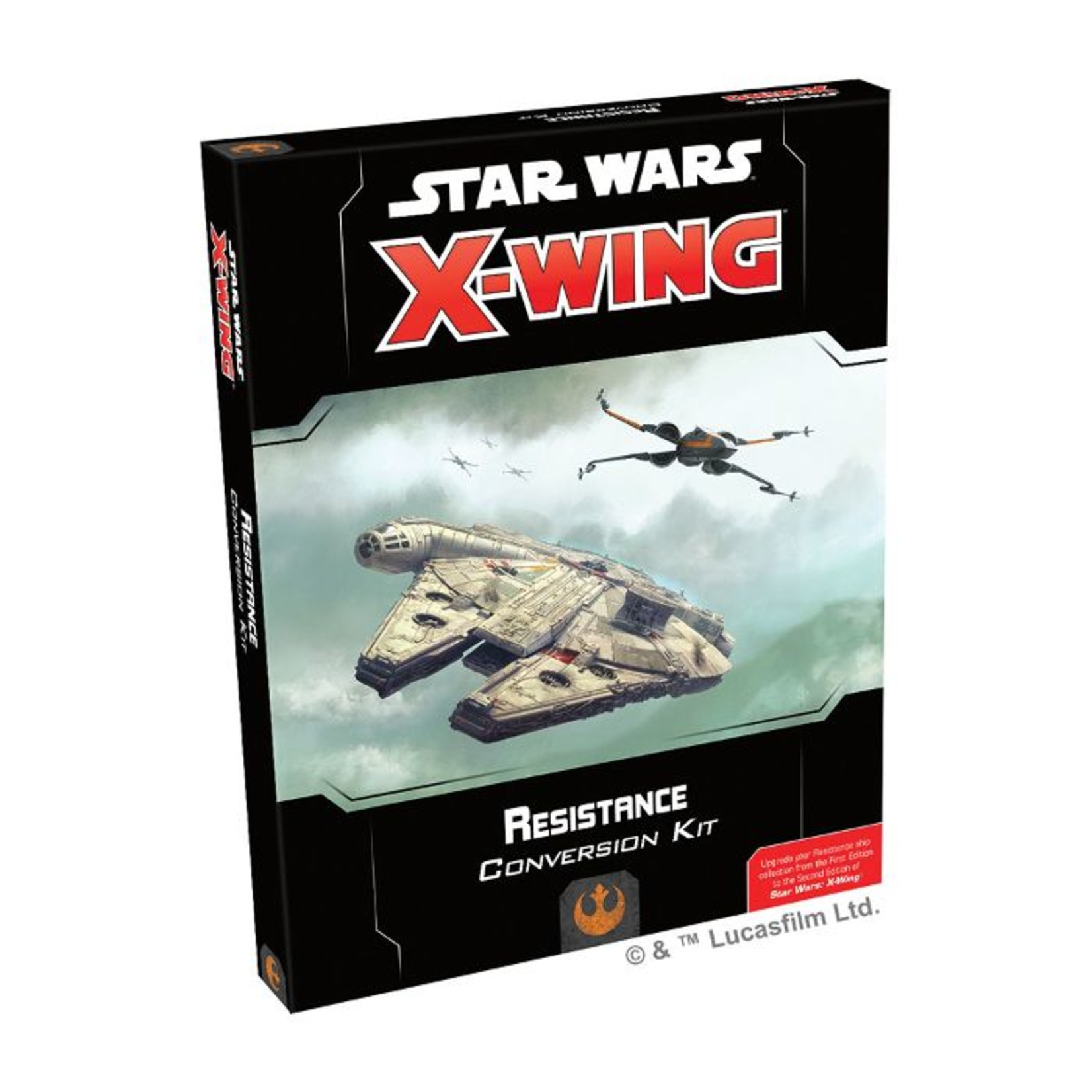 Fantasy Flight Games Star Wars X-Wing 2nd Edition: Resistance Conversion Kit