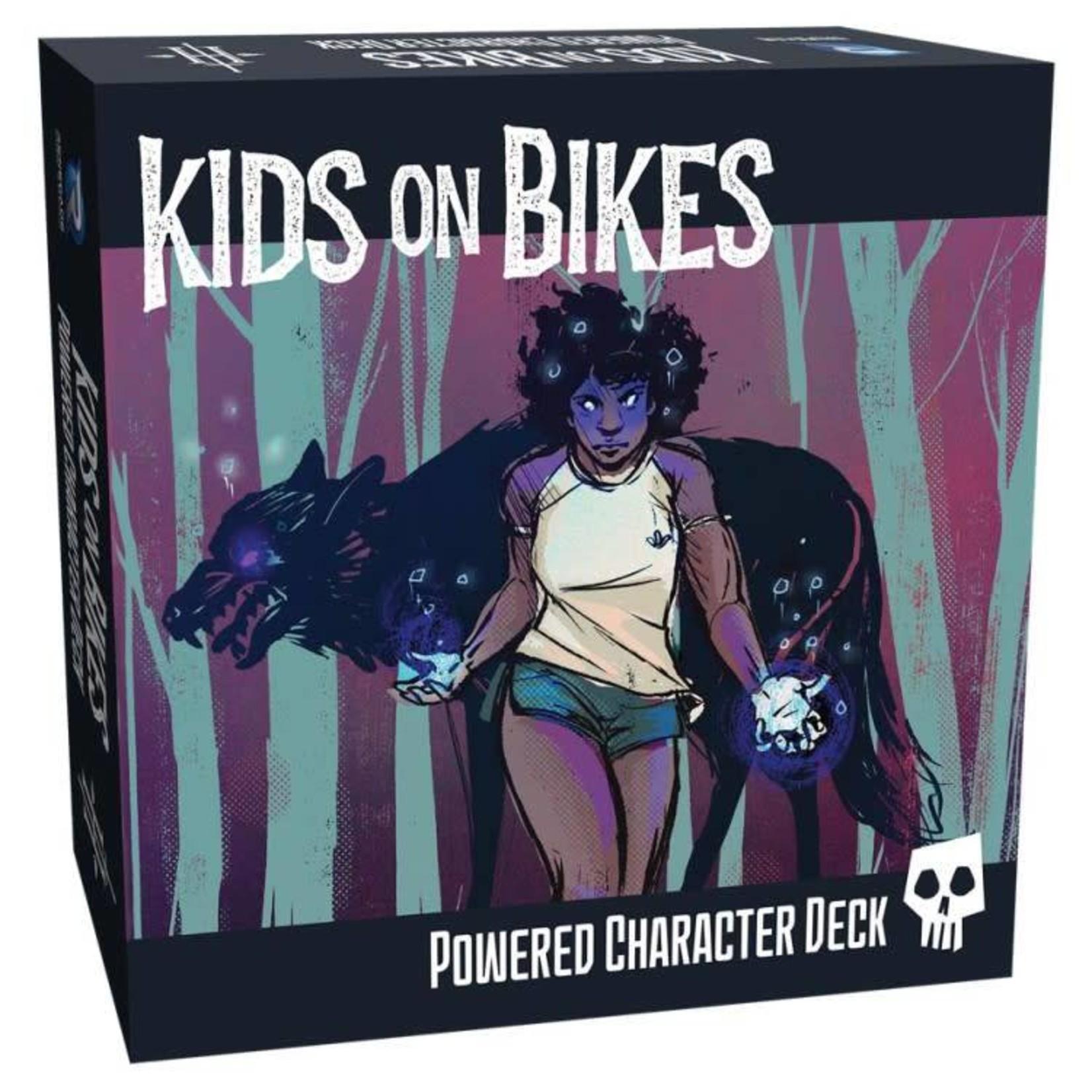 Renegade Kids on Bikes RPG Powered Character Deck