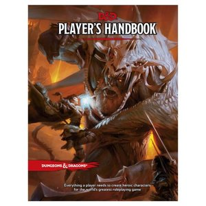Wizards of the Coast Dungeons and Dragons 5th Edition: Player's Handbook