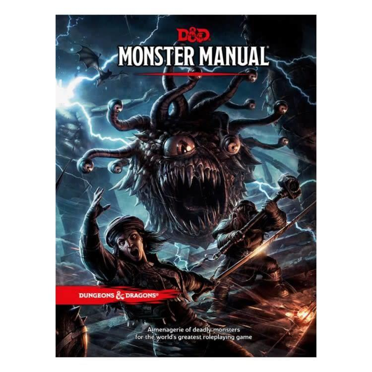 Wizards of the Coast Dungeons and Dragons 5th Edition: Monster Manual