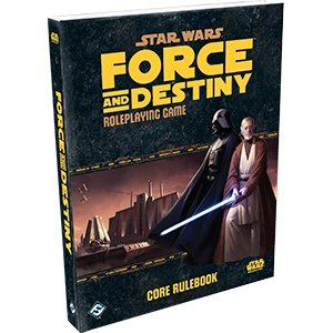 Fantasy Flight Games Star Wars Roleplaying Game: Force and Destiny - Core Rulebook Hardcover