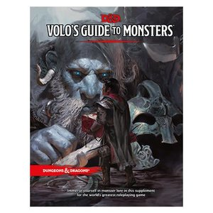 Wizards of the Coast Dungeons and Dragons 5th Edition:  Volos Guide to Monsters