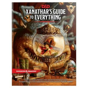 Wizards of the Coast Dungeons and Dragons 5th Edition: Xanathar's Guide to Everything Hardcover