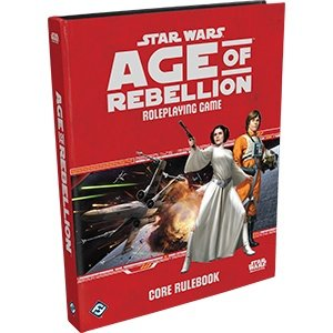 Fantasy Flight Games Star Wars Roleplaying Game: Age of Rebellion - Core Rulebook Hardcover