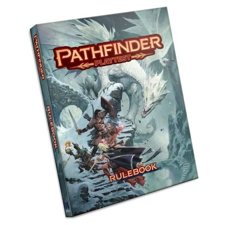 Paizo Pathfinder Roleplaying Game 2.0: Playtest Rulebook - Hardcover