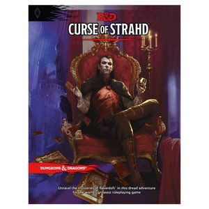 Wizards of the Coast Dungeons and Dragons 5th Edition -  Curse of Strahd Hardcover