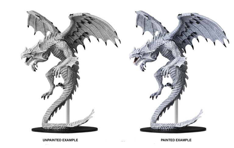 Pathfinder Battles: Gargantuan White Dragon