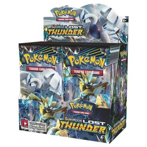 Pokemon International Pokemon Trading Card Game: Lost Thunder Booster Box