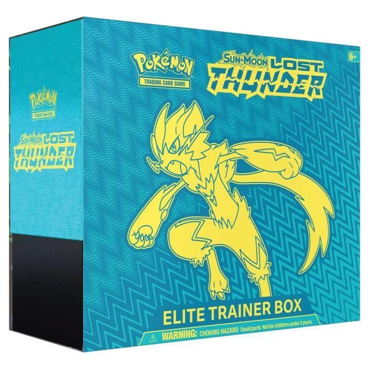 Pokemon International Pokemon Lost Thunder Elite trainer box