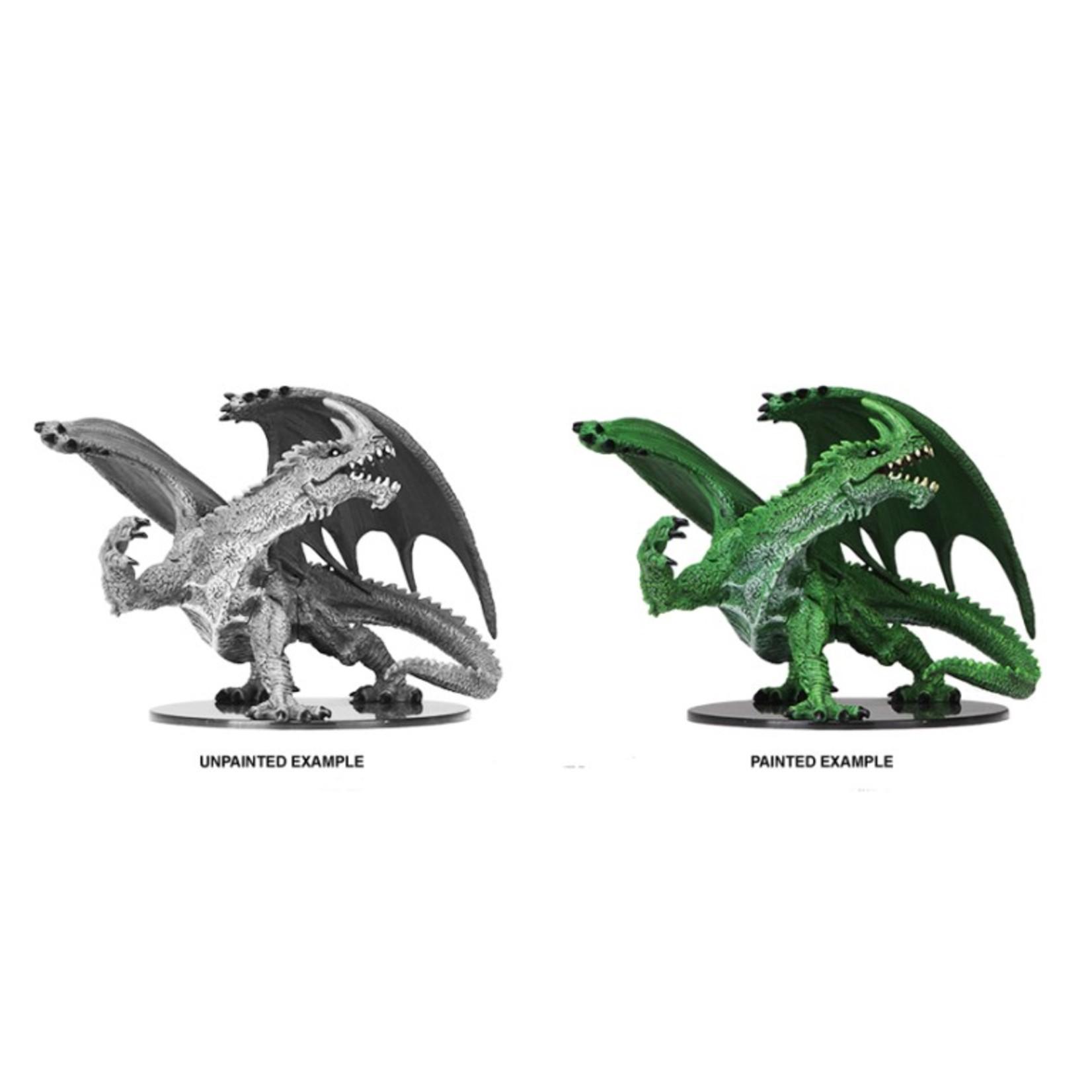 WizKids Pathfinder Battles Deep Cuts Unpainted Miniatures: Gargantuan Green Dragon (W6)