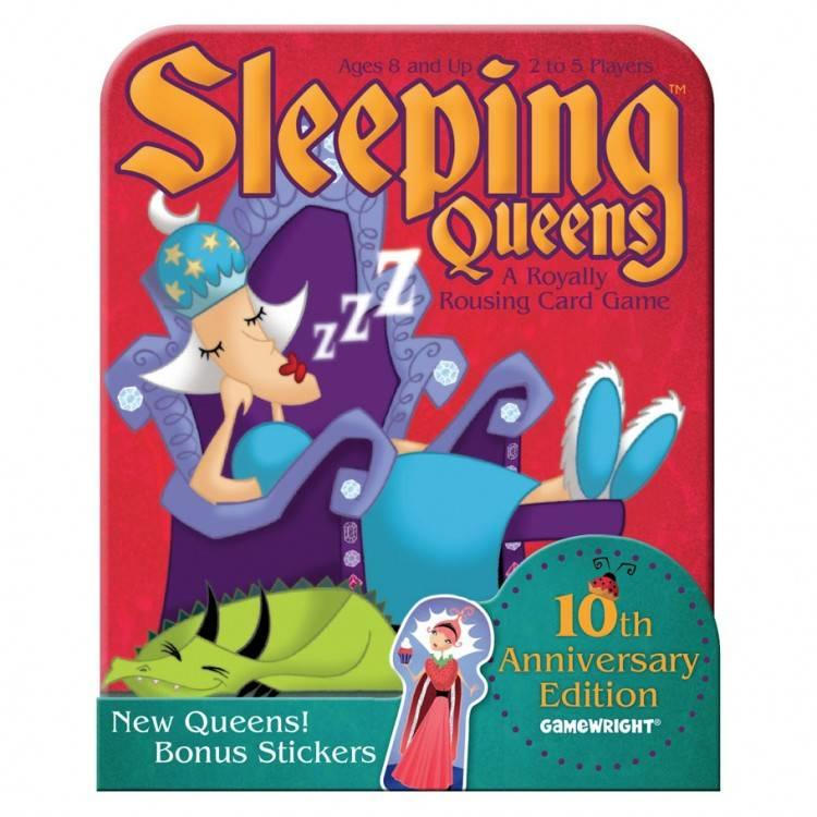 Gamewright Sleeping Queens: 10th Anniversary