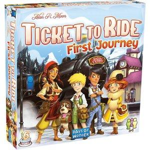 Days of Wonder Ticket to Ride: First Journey - Europe