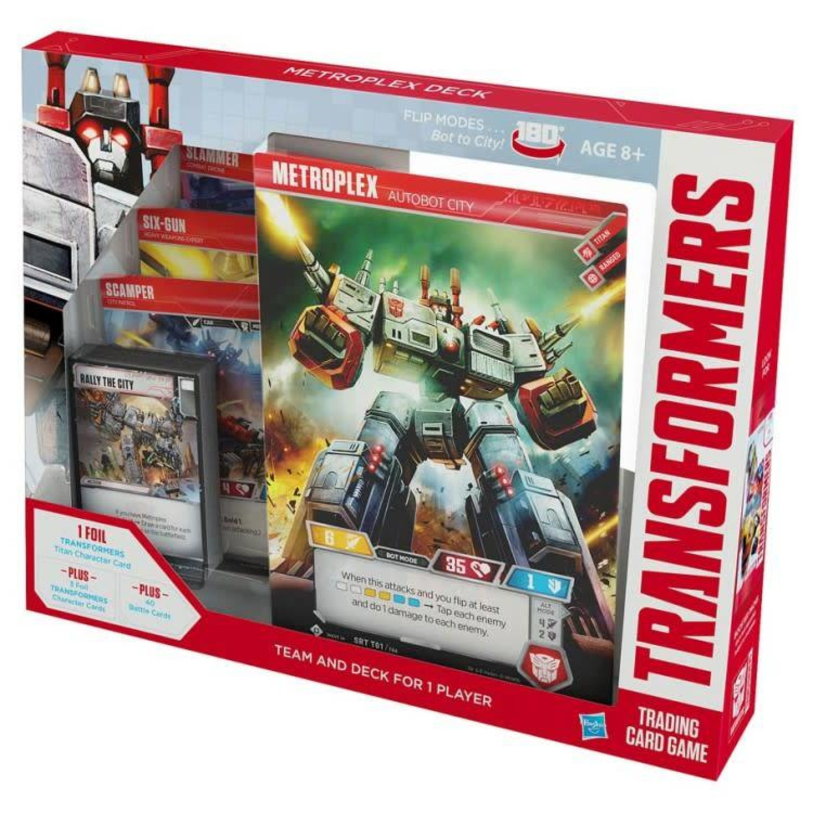 Wizards of the Coast Transformers Card Game - Metroplex Deck