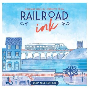 CMON Railroad Ink: Blue