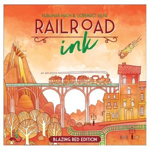CMON Railroad Ink: Red