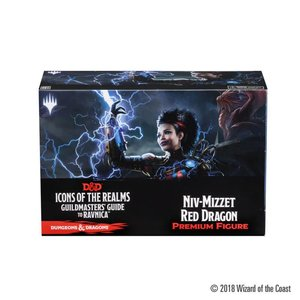 WizKids Dungeons & Dragons Fantasy Miniatures: Guildmasters Guide to Ravnica - Niv Mizzet