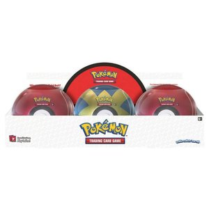 Pokemon International Pokemon: Poke Ball Tin