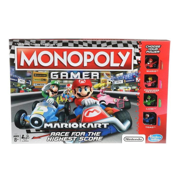Hasbro Monopoly: Gamer - Mario Kart