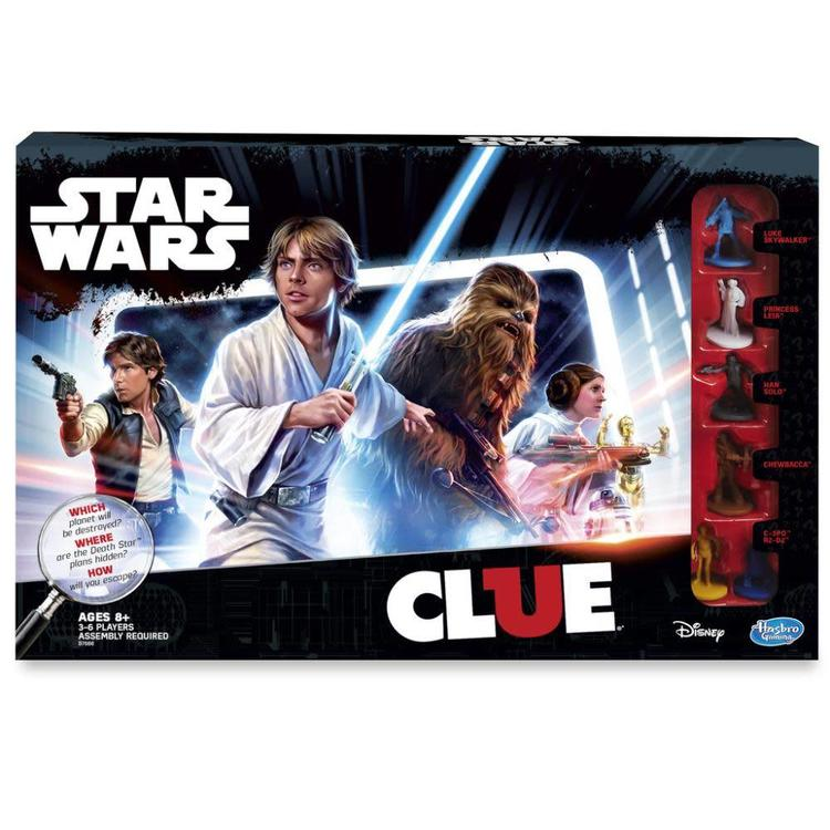 Hasbro Star Wars Clue