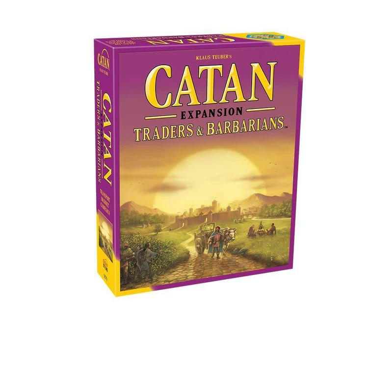 Lookout Games Catan Traders and Barbarians Expansion