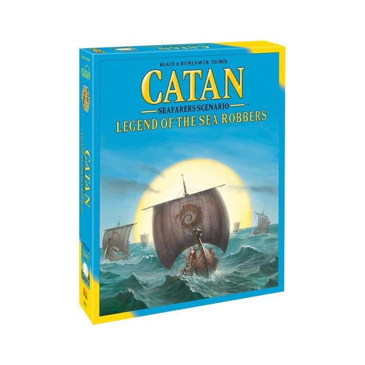 Catan Studios Catan Legend of Sea Robbers Expansion