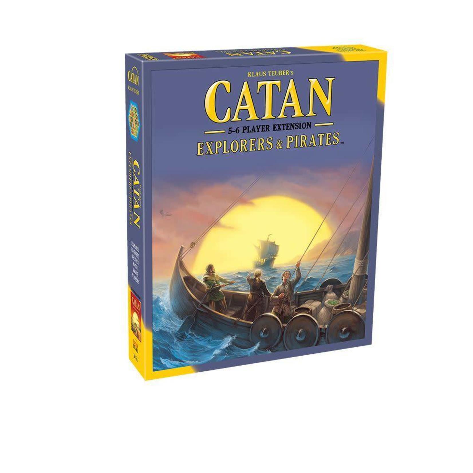 Catan Studios Catan Explorers & Pirates - 5-6 Player Extension