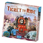 Days of Wonder Ticket to Ride: Asia Expansion Map