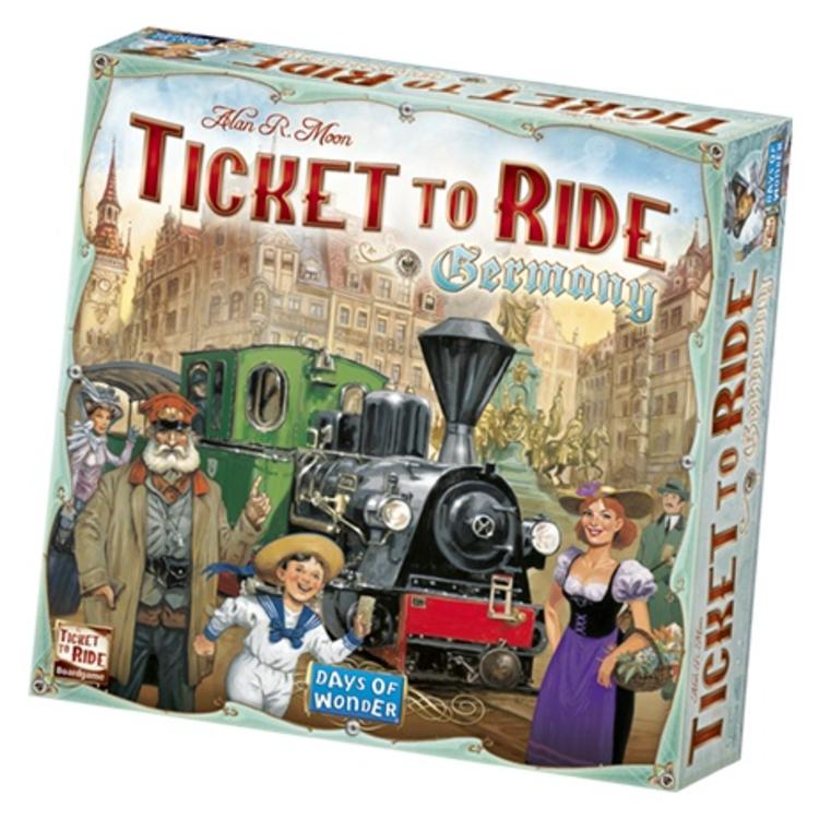 Days of Wonder Ticket to Ride: Germany