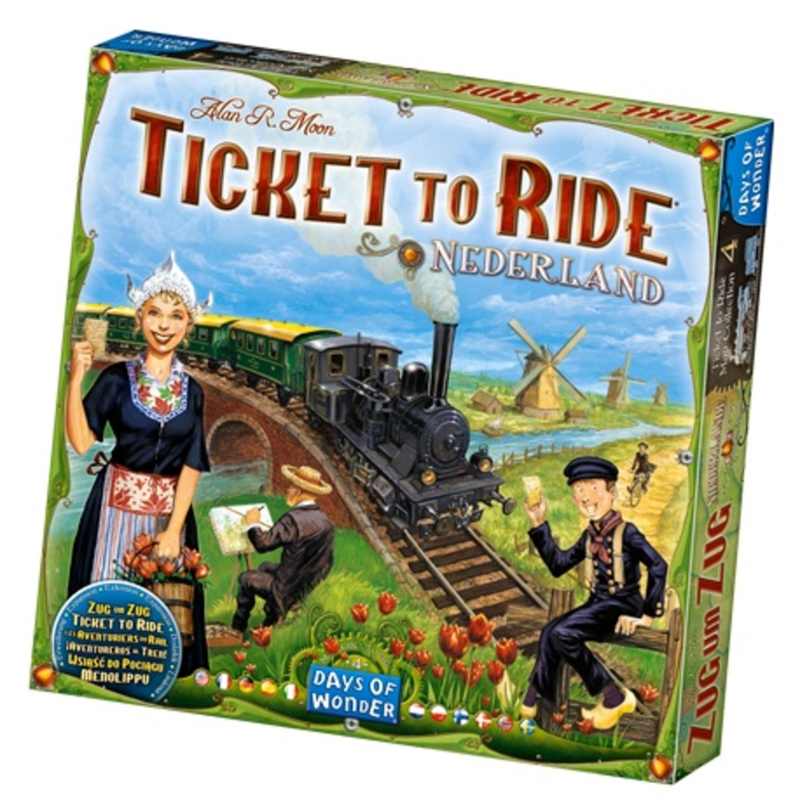 Days of Wonder Ticket to Ride: Nederlands Expansion